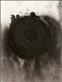 mud moon by otto piene