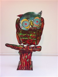owl by ivor abrahams
