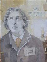 oscar wilde by louis boudreault