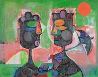 two women by byron browne