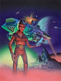 1984 magazine no. 6 cover by jim laurier