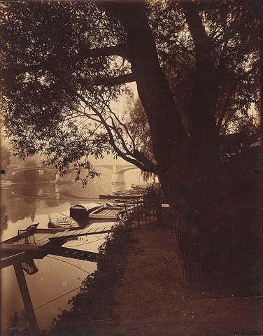 the marne at la varenne by eugène atget