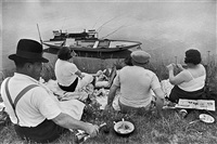on the banks of the marne by henri cartier-bresson