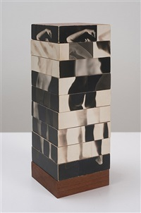 fractured figure sections/(multiple solution puzzle) by robert heinecken