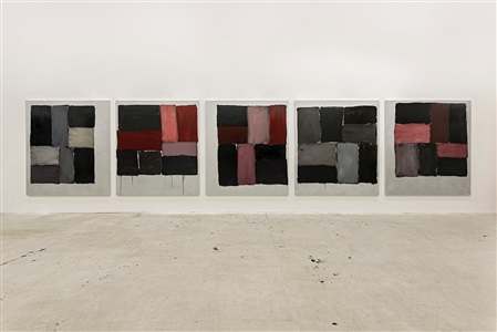 sean scully kind of red by sean scully