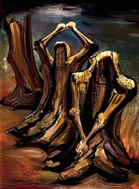 rescoldo (sold) by david alfaro siqueiros