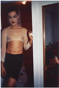 jimmy paulette undressing with tabboo by nan goldin