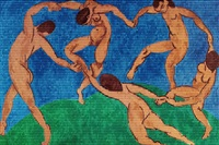matisse danse vs munch scream by alex guofeng cao