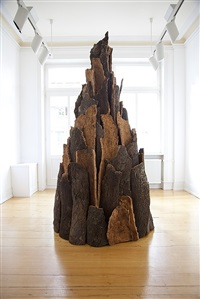 cork spire by david nash