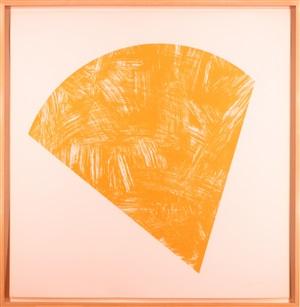 untitled (orange state i) by ellsworth kelly