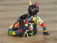 chat vase by niki de saint phalle