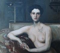 portrait of elizabeth chanler, restored by kathleen gilje