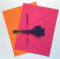 washington monument by andy warhol