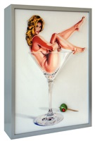 martini miss#1 by mel ramos