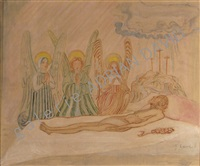 le christ et les anges by james ensor