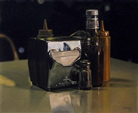 diner still life by ralph goings