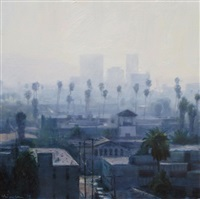 palms and haze by ben aronson