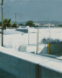 white buildings in sun by ben aronson