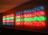 start a revolution by tim etchells