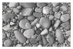 beachstones #5 by skip steinworth