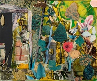 madeline jones' wonderful garden by romare bearden