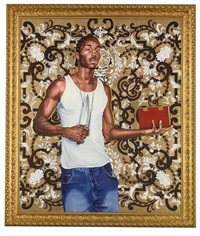 passing/posing # 3 by kehinde wiley