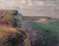 falaises d'yport by gustave loiseau