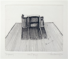 dispensers, from the series, delights by wayne thiebaud