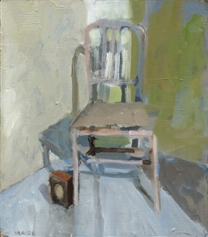 chair in closet by catherine maize