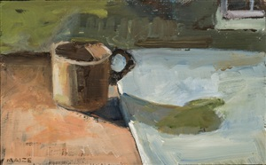 cup and shadow by catherine maize