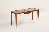 table en acajou by jean-michel frank