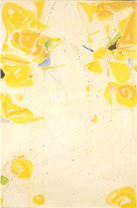 untitled (sf59-351) by sam francis