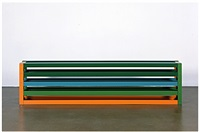 the current constructed by the factory once it has stopped producing cars by liam gillick