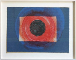 sun, more indian views by howard hodgkin