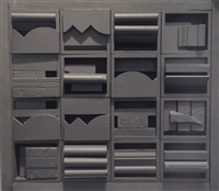 diminishing reflection by louise nevelson