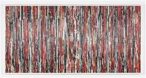 rojo, blanco y negro - serie papiros by alejandra padilla