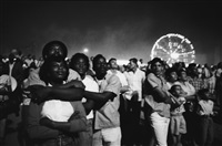 time of change (crowd at fair) by bruce davidson