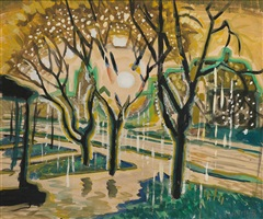 sun-burst after spring-storm by charles ephraim burchfield