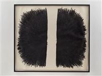 oil & graphite vitruvian man by william anastasi