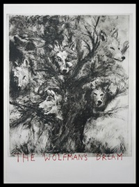 the wolfman's dream by jim dine
