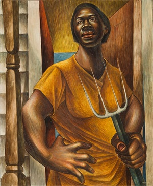 our land by charles white