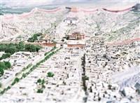 tibet, gyantzei by olivo barbieri
