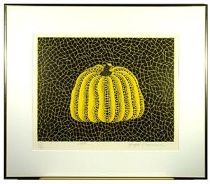 pumpkin (ybl) by yayoi kusama