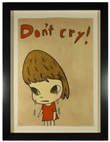 don't cry by yoshitomo nara