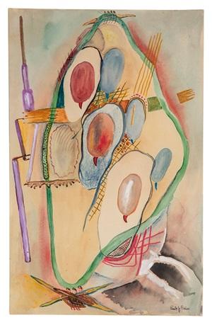 ohne titel (biomorph) / untitled (biomorph) by rudolf bauer