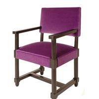 paire de sièges néo louis xiii by jacques adnet