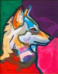 canis lupus/wolf by john nieto