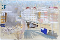 townscape - sheffield by john piper