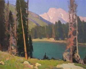 jenny lake by glenn dean