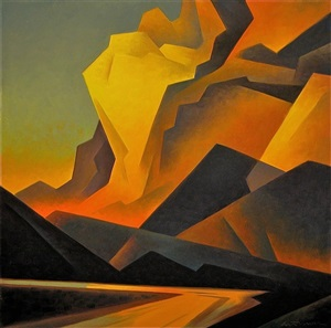 golden cloud bank by ed mell